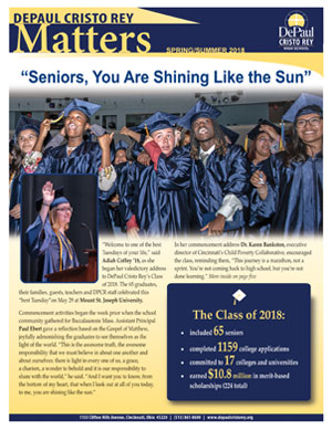 DPCR NEWSLETTERS - DePaul Cristo Rey High School